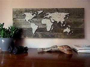 Weltkarte Bild Holz : las 25 mejores ideas sobre mapa mundi grande en pinterest ~ Lateststills.com Haus und Dekorationen