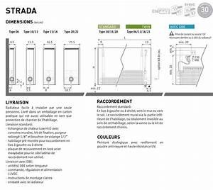 Type De Radiateur : radiateur strada twin type 11 jaga ~ Carolinahurricanesstore.com Idées de Décoration