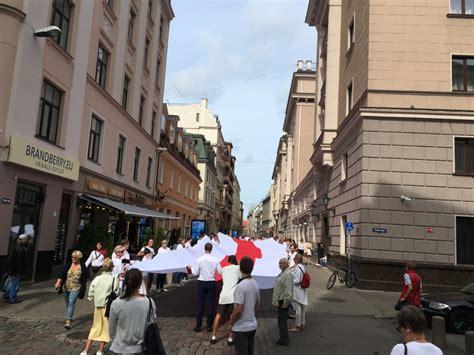 PBLA piedalās atbalsta akcijā Baltkrievijai | Pasaules ...
