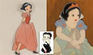 early version  snow white      betty