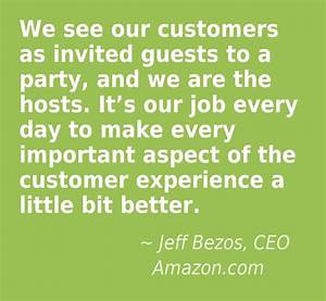 great customer service quotes we see our customers as With customer service work experience