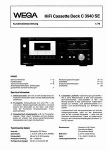 Wega 3121 Service Manual Free Download  Schematics  Eeprom