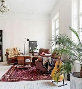 Tapis persan salon contemporain accueil design et mobilier for Tapis persan avec canapé lit design italien