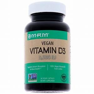 Vitamin D3 Berechnen : mrm vegan vitamin d3 5 000 iu 60 vegan capsules ~ Themetempest.com Abrechnung