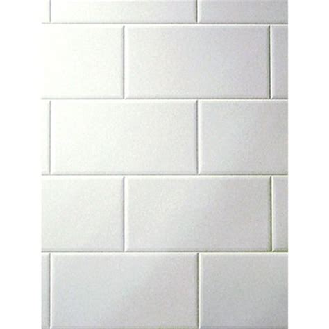 4x8 white subway tile copp s buildall product