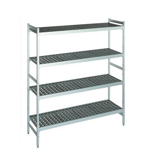 Narrow Closet Shelving by Cold Store Polymer Shelving Narrow Width Aluminium