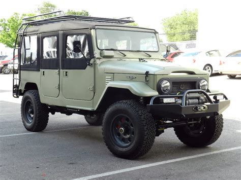 icon land cleanly designed overly built 1968 land cruiser fj44