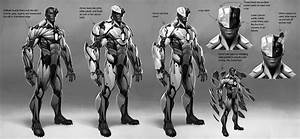 Joseph Meehan - Cyborg concept for Injustice 2