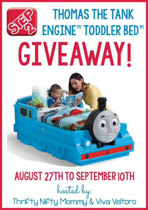 The Tank Engine Toddler Bed by Giveaway Step2 The Tank Engine Toddler Bed See
