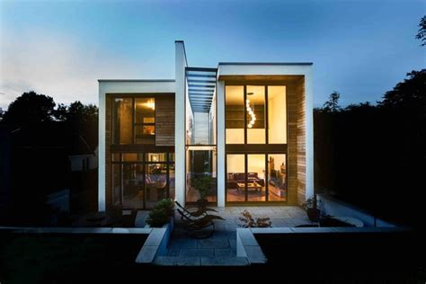 wrap house modern home  london england united kingdom