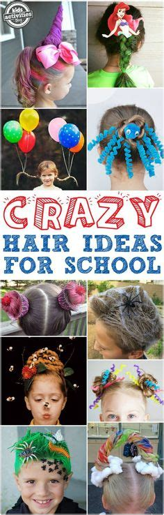 Crazy Hair Day Cupcake My Style Pinterest Crazy