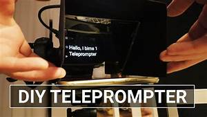 Sieh An Einfach Günstig : diy teleprompter bauen einfach g nstig g nstig ~ A.2002-acura-tl-radio.info Haus und Dekorationen