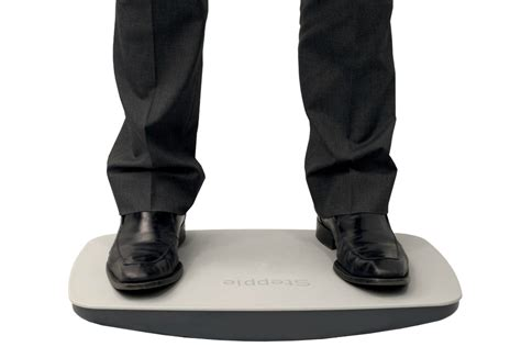 standing desk balance board steppie balance board review
