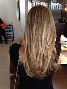 Dunkelblonde Haare Mit Blonden Strähnen : sind das normale str hnchen haare str hnen balayage ~ Frokenaadalensverden.com Haus und Dekorationen
