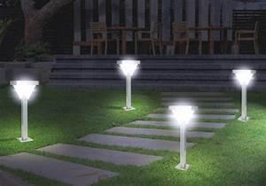 Eclairage Exterieur Jardin : eclairage exterieur jardin applique design marchesurmesyeux ~ Melissatoandfro.com Idées de Décoration