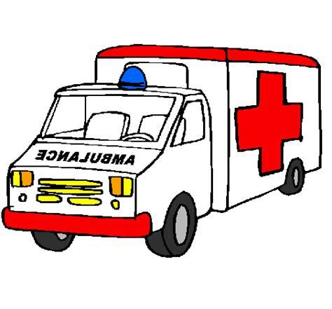 disegno ambulanza colorato da utente  registrato il