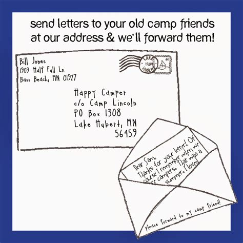 send a letter the letter