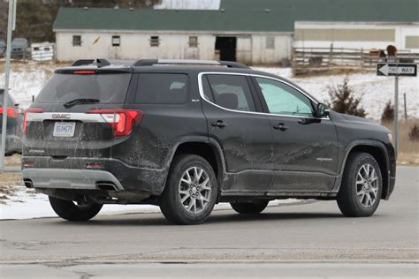 2020 gmc acadia facelift in the wild photo gallery gm