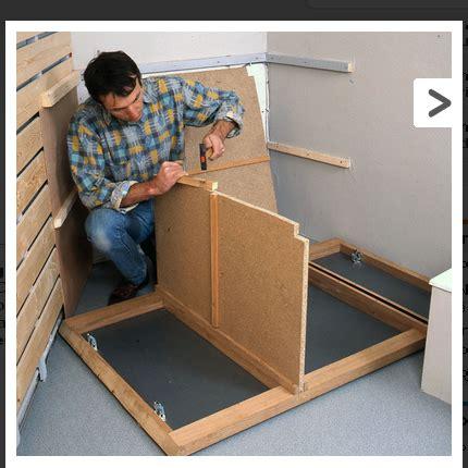 comment fabriquer soi même un meuble pour le lavabo