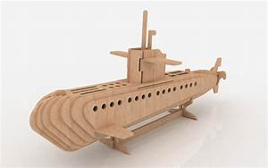 Submarine - Ships & Boats MakeCNC com
