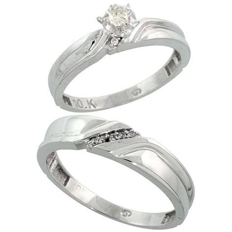 white gold wedding rings sets for him and white gold wedding ring sets for him and white gold 1341