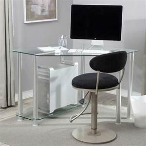 Schreibtisch Aus Glas : eckschreibtisch 110 moderne vorschl ge ~ Markanthonyermac.com Haus und Dekorationen