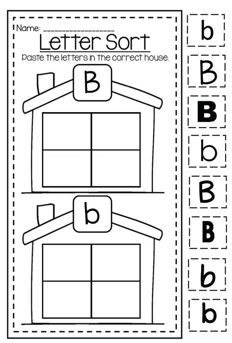 letter b worksheets alphabet letter b worksheet preschool