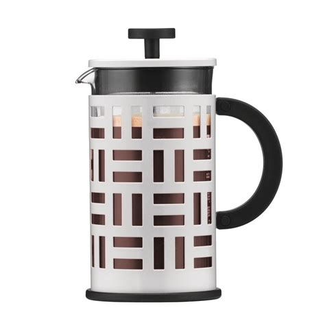 bodum eileen 8 cup white french press coffee maker 11195