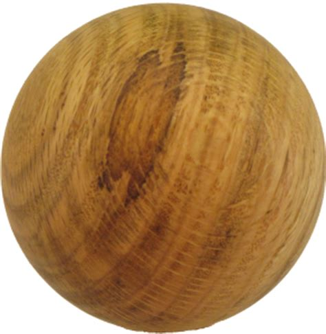 wood ball floor l walnut wood ball