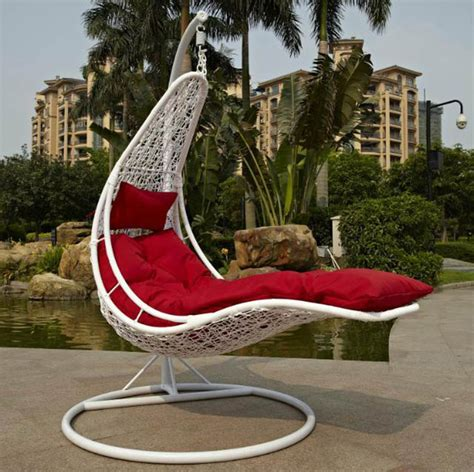 creek cradle lounger cing chair outdoor rattan basket swing hanging chair lounge rocking
