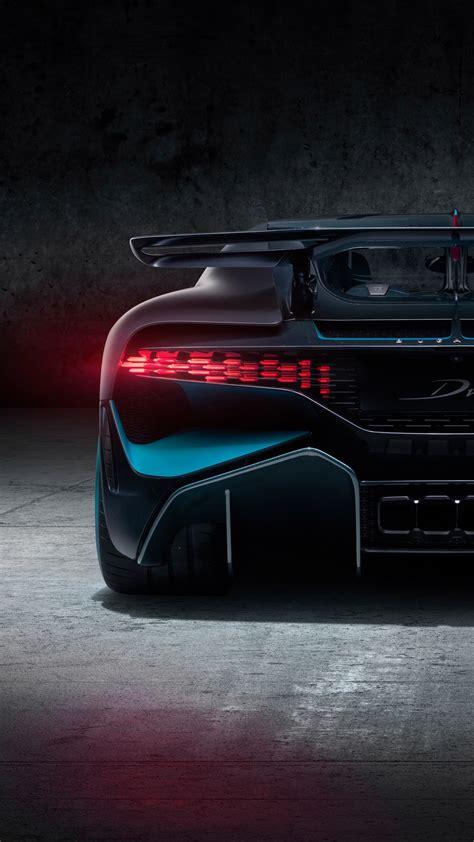 wallpaper bugatti divo rear view   automotive