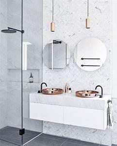 Salle De Bain Marbre Blanc : douche italienne tout ce que vous devez savoir clem atc ~ Nature-et-papiers.com Idées de Décoration