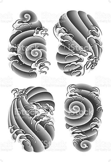 Tatouage Japonais Nuage