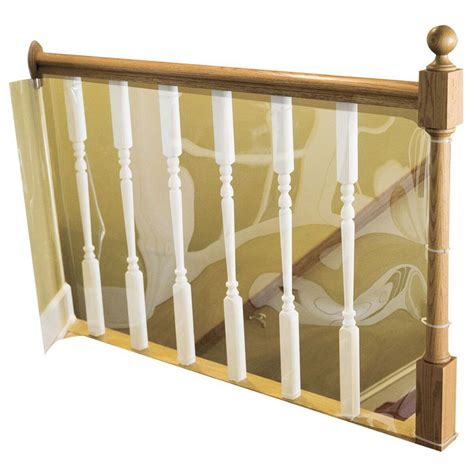 banister safety gate cardinal gates 15 ft roll child safety indoor banister
