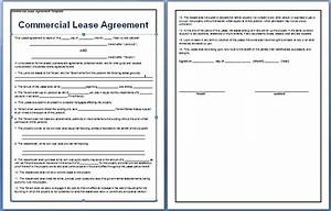 commercial lease agreement template free free agreement With commercial building lease agreement template