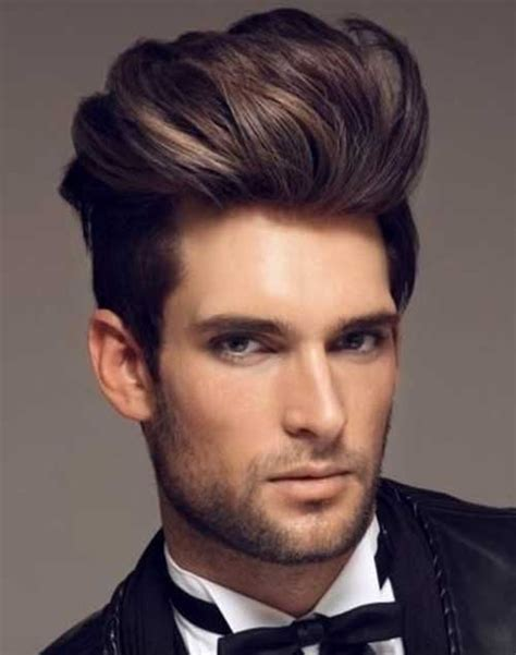 pompadour hairstyle men mens hairstyles