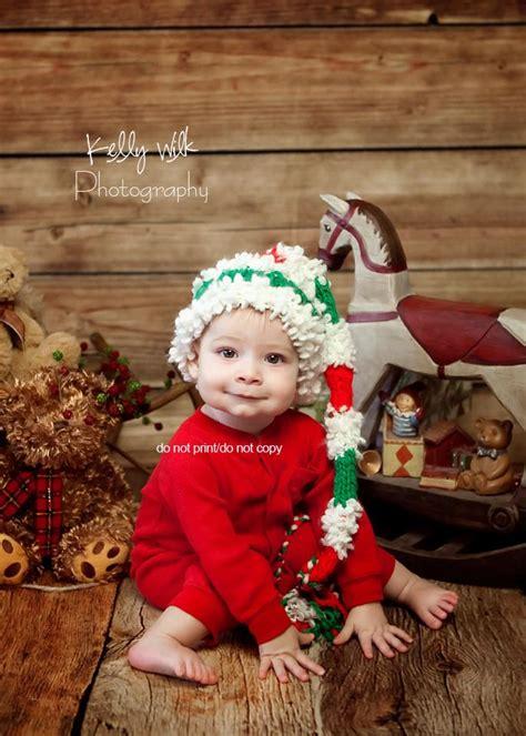 hat elf christmas white red boy girl unigender newborn