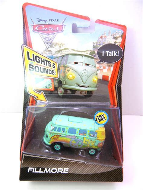disney cars 2 lights and sounds fillmore   justjdm
