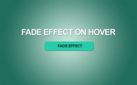 css fade button effect  hover transition  javascript pt  brother computer