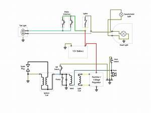 Wiring Diagram  12v Conversion   U2014 Moped Army