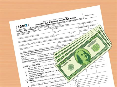 how to amend a federal tax return with pictures wikihow
