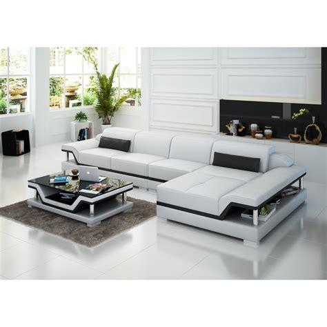canapé d angle tissu design canapé d 39 angle en cuir pop design fr