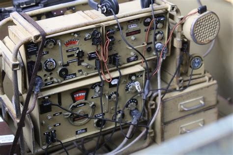 A Sdkfz 250 Interior Photo Showing The Type And