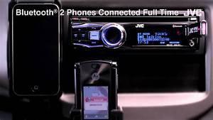 Jvc Mobile Car Audio Receiver  U0026quot Bluetooth R  2 Phones