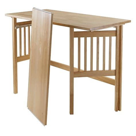 winsome folding computer desk natural  staples