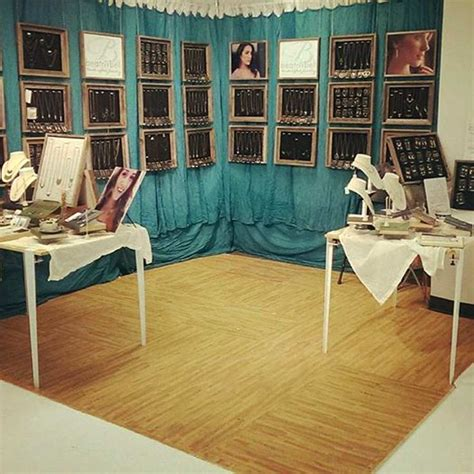 quot we used the soft wood tiles for our booth at a recent
