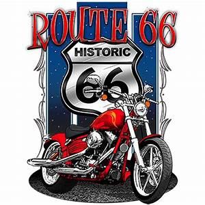 Route 66 En Moto : t shirt homme manches courtes moto historic route 66 biker usa 5377 ~ Medecine-chirurgie-esthetiques.com Avis de Voitures