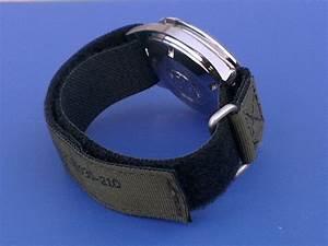 Short NASA Velcro strap for Omega Speedmaster moon watch
