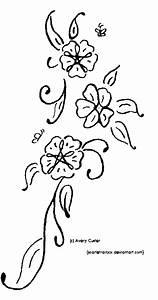 Flower Vine Tattoo by ScarletRainxX on DeviantArt