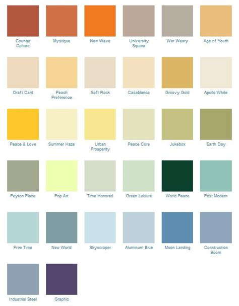 14288 best mid century modern images on color palettes colour schemes and color